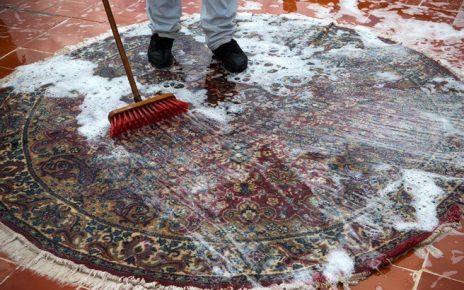 nettoyer un tapis